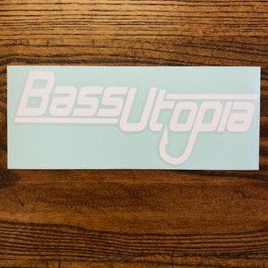 Bass Utopia Sticker