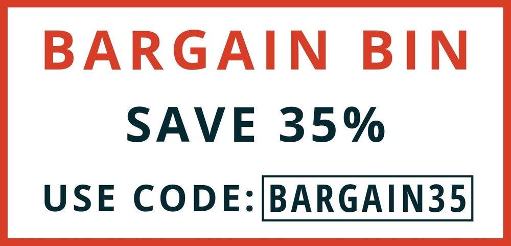 Bargain Bin: 35% Off