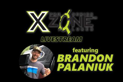 XZone Livestream with Brandon Palaniuk
