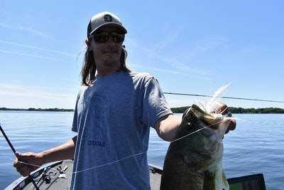 Summer Bass Fishing - Outkast Tackle Chicken